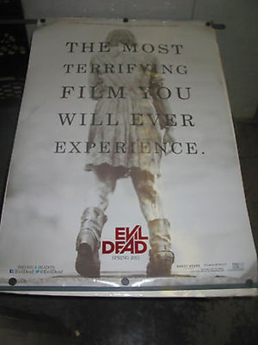 EVIL DEAD /ORIG. U.S ONE SHEET TEASER MOVIE POSTER 2013 (JANE LEVY )DS