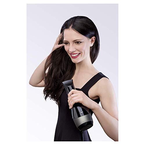 Braun HD785 Satin Hair 7 Professional SensoDryer, Asciugacapelli Professionale con Motore AC, Sensore Termico, Tecnologia Iontec e Diffusore, 2000 W, 4 Velocità, Nero