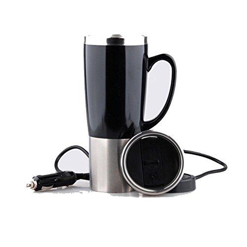 Ruirui-Vitres électrique, vitrage Automobile, en Acier Inoxydable-Voiture électrique Coupe, Papier Cadeau chopes, Tasses de Voyage, Black