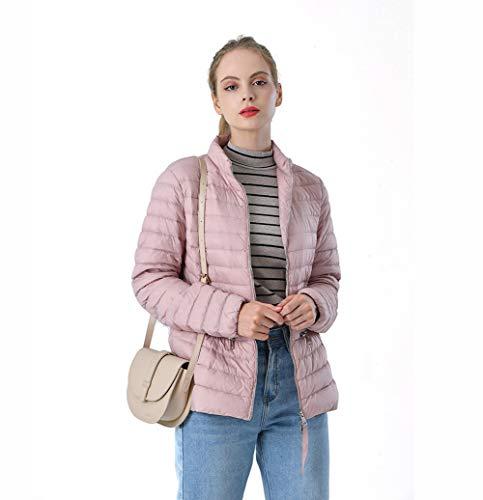 Dames Short Designer Parker Down Jacket-Gewatteerde Jas Ritszakken Herfst Winter Slanke Stand Kraag Licht Down Waterdicht M-XLVery Mooi Gift