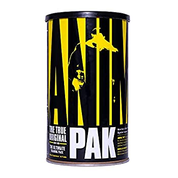 Animal Pak – Vitamin Pack Supplement – Zinc Vitamin C B D Amino Acids and More – Sports Nutrition Supplement – Convenient All-in-One Packs – 44 Packs