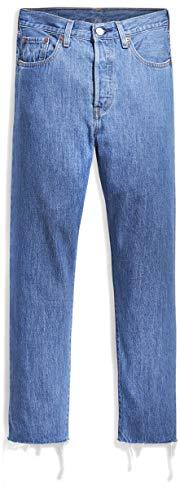 Levi's Womens 501 Crop Jeans,  Sansome Breeze Stone, W26/L28