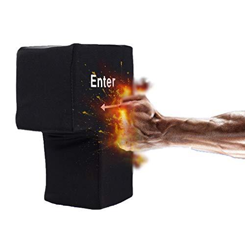 Super Grande Tecla Enter Botón de Retorno USB Tecla de Computadora Almohada...