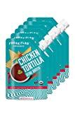 Freak Flag Organics   Chicken Tortilla Bone Broth Soup Stock   USDA Certified Organic, Gluten Free, Non-GMO   Easy & Ready to Serve   16 oz Pouch (Pack of 6)