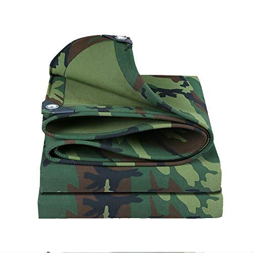 ZXZXI Bâches Jungle Camouflage Tarpaulin Épaissie Toile De Voiture Auvent Toile Stores Auvent Couverture De Protection du Soleil (Color : Multi-Colored, Size : 4x7m)