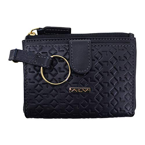 ALV by Alviero Martini - Sachet wallet VIP leather with coin/credit card/banknotes, for woman