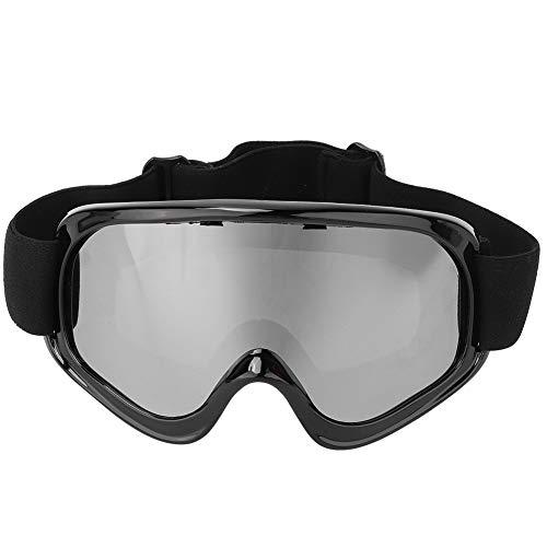 LYJL (Plata Hombres Al Aire Libre Mujeres Snow Snowboard Skiing Goggles Protección contra El Viento Gafas