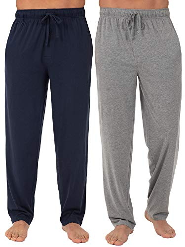 Fruit of the Loom Homme 2457803FOL Pantalon de sommeil en jersey tricoté Bas de pyjama - multicolore - Small