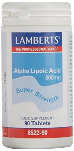 Lamberts Ácido Alfa Lipoico 300 mg - 90 Cápsulas
