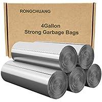 100-Count Rongchuang 4 Gallon Ultra Strong Trash Bags