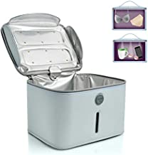 Hope C+ UVC Box sterilizer, Blue Sanitizing Box Portable Bag UVC Light Cleaner UV Sterilizer, Large Size Light Box for Phone, Beauty Tool99.99% Cleaned in 3 Minutes.