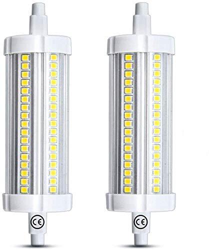 Luxvista LED R7S Lampadina 20W 118mm Lineare Bianco Calda 3000K Illuminazione Non Dimmerabile J118 a Doppio Effetto Lineare 1900Lumen Equivalenti a 200W Lampada Alogena 2-Pezzi