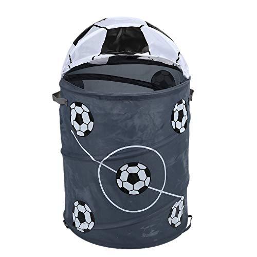 Bayda Fútbol la Modélisation - Cesto para la ropa sucia, diseño plegable, para almacenamiento en baril de almacenamiento, tejido de poliéster, tienda de juguetes