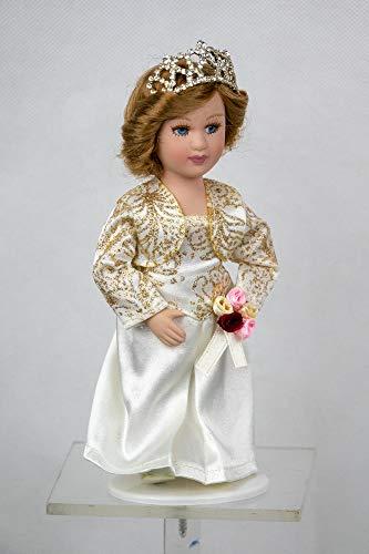 Royal Dolls Collection Porzellan Puppe Prinzessin Diana von Wales
