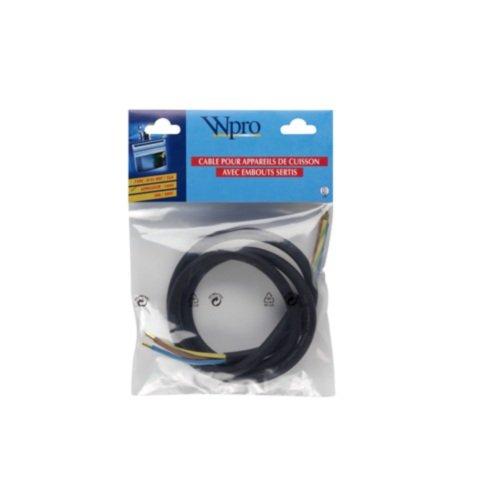Wpro CCB340 Stromkabel Querschnitt 3G4 Herdanschluss