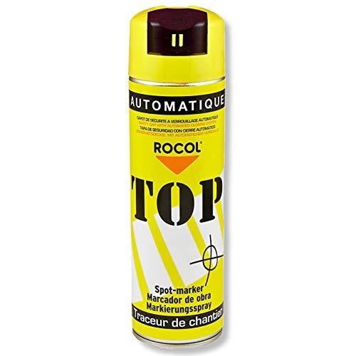 TOP Markierungsspray Rocol - GELB - 500ml-Farbdose - Farbspray - Markierspray - Markierungsfarbe - Forstspray - Forstfarbe