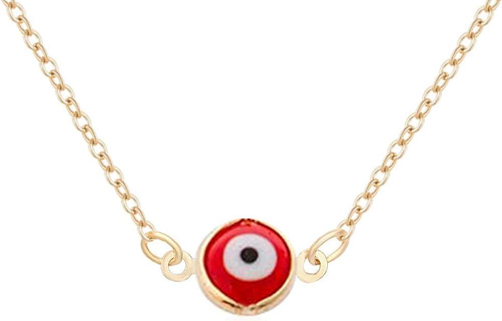 Red eye maiden necklace