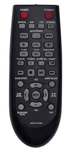 ALLIMITY AH59-02548A Fernbedienung Ersetzen für Samsung Soundbar System HW-F350 HW-F350/ZF
