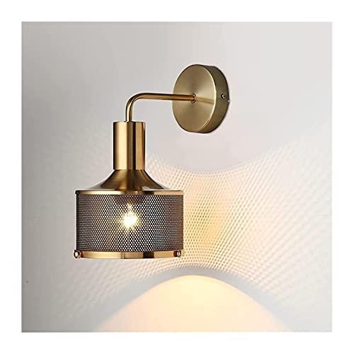 Lámpara de Pared,Aplique de pared Moderna lámpara de pared simple 1 ligero industrial metal iluminación interior accesorio personalidad creativa lámparas de noche lámparas de pared Apliques for el pas