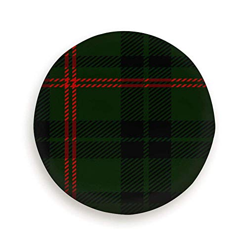 Zwart Groen Rood Schotse ruit Plaid Schots Abstract Reservewiel Bandafdekking Waterdicht Stofdicht Universeel voor veel voertuigen