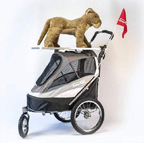 Innopet Trimmtisch Aufsatz passend für den Sporty-Trailer Hunde Fahrradanhänger + Buggy für Hunde Ausstellungen