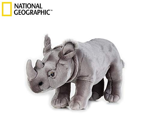 National Geographic - 8004332707219 - Peluche Rinoceronte