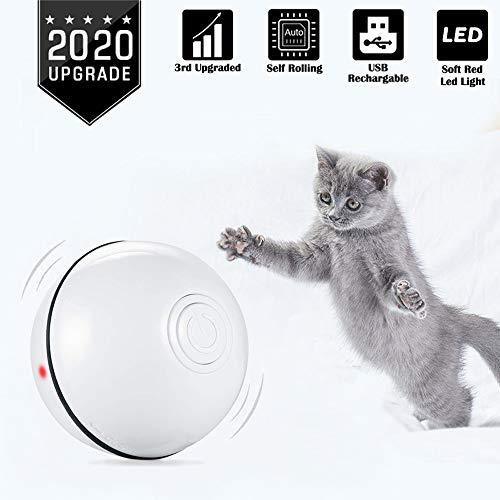 416luMXMJqL - Balle Électronique Intelligente pour Chiens et Chats (video)