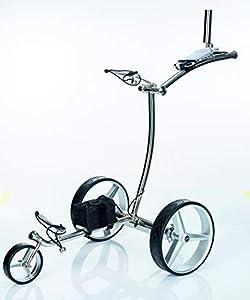 GT-R Elektrischer Golftrolley Edelstahl Fernbedienung einschließlich Zubehör(6X) 2 Jahre Garantie