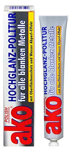 AKO POLISH (vormalsWenol) Hochglanz-Politur für alle blanken Metalle 12 x 100 ml