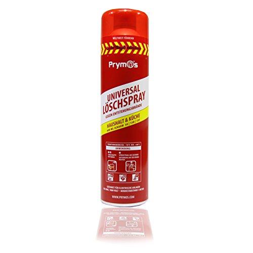 Prymos 630 Feuerlöschspray Feuerlöscherspray Universal rot, 625 ml