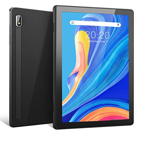 """MARVUE Pad M10 Tablet 10.1 Inch Android 10.0 Tablets 2GB RAM 32GB ROM Storage, 2MP+8MP Dual Camera, 2.4GHz WiFi, 1.6GHZ Quad Core Processor,10.1"""" IPS HD Android Tablet, Metal Body(Black)"""