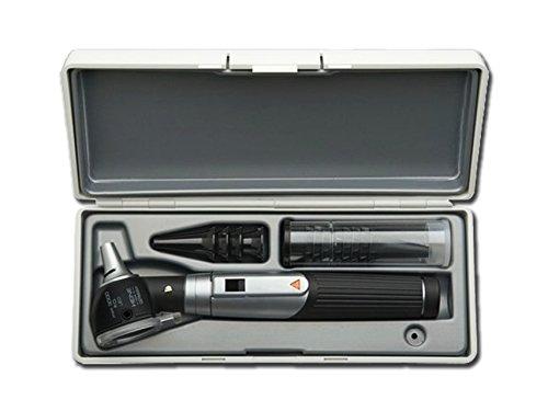 Heine Mini 3000Otoskop F.O. LED, schwarz, mit Schutzhülle
