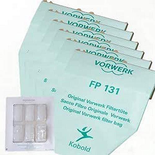 Vorwerk Folletto 1 Sacchetti Originali con dovina 130-131, Microfibra