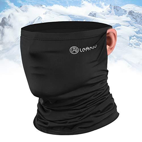 LEMEGO Fast-Dry Multifunktionstuch Beide-Ohrschlaufe-Design Gesichtstuch Halstuch Gesichtsmaske Atmungsaktiv Weich Gesichtsmaske Stirnband Bandana Elastisch UV400 Atemschutz Maske für Herren Damen