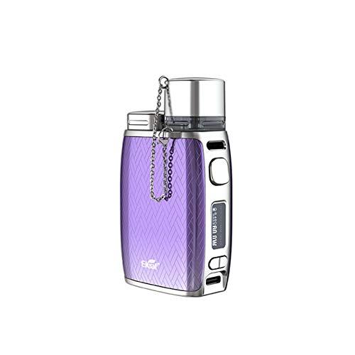 No-nicotine, no-liquid, E.LEaf Pico COMPAQ Kit 60W alimentato da una singola batteria 18650 e pod da 3,8 ml con bobina GTL (senza 18650 cella)