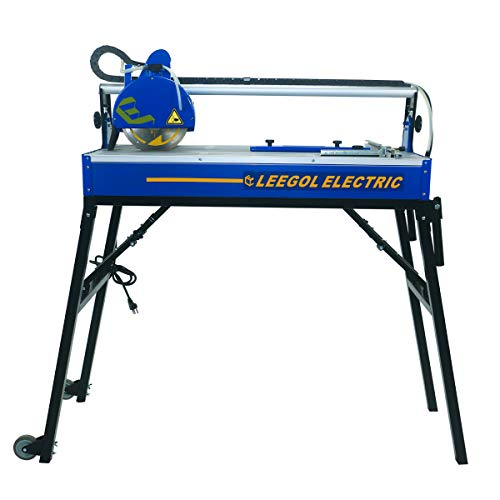 Leegol Electric 8 Inch 1.75 HP Bridge Tile Saw