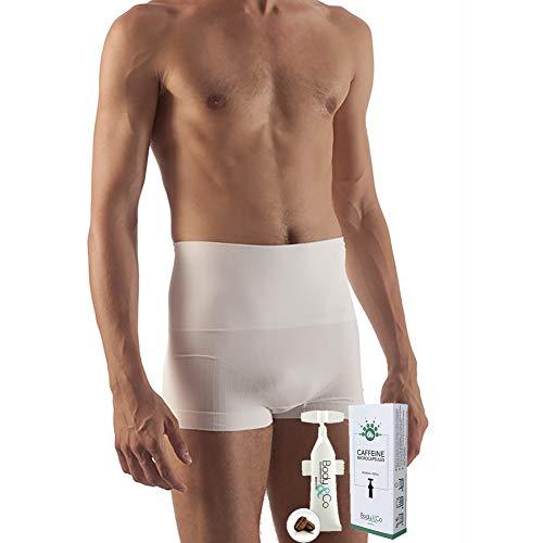 Body&Co Boxer Uomo Modellante con microcapsule alla Caffeina