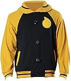 Poetic Walk Soul Eater Cosplay Costume Jacket Evans Anime Manga Costume Uniform Halloween Outfit (Medium, Set)