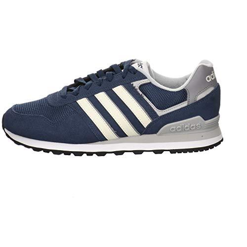 adidas 10K, Scarpe da Running Uomo, Blu, Azzurro, Grigio (Azmatr Blacre Gridos), 43 1/3 EU