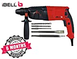 IBELL Rotary Hammer Drill Machine RH26-24, SDS Chuck,800W,900RPM,26MM with 6 Months Warranty