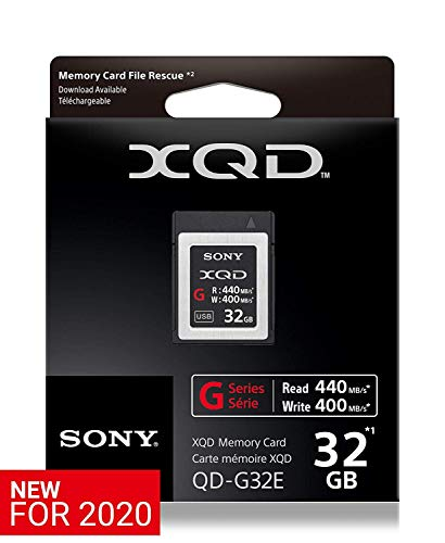 Sony QDG32E/J XQD-Flash-Speicherkarte (32 GB, XQD, 440 Mb/s)