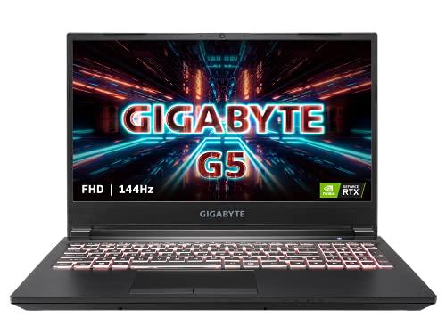 "GIGABYTE G5 KC - 15.6"" FHD IPS Anti-Glare 144Hz - Intel Core i5-10500H - NVIDIA GeForce RTX 3060 Laptop GPU 8 GB GDDR6 - 16 GB Memory - 512 GB PCIe SSD-Windows 10 Home - Gaming Laptop(G5 KC-5US1130SH)"