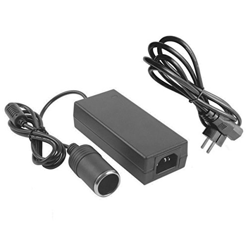 Beikal AC 100~240V To DC 12V Power Converter with Cigarette Lighter Socket, Adapter for 8A 96W Car Electrical Appliances