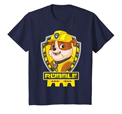 Kinder US Paw Patrol Kids Rubble 01 T-Shirt