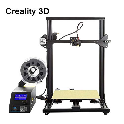 Laecabv Creality CR-10 3D Printer Large Building Volume DIY Z axis 3D Printer Power Off Working Kit - 300×300×400mm
