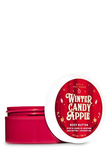 Bath & Body Works Winter Candy Apple 2019 Edition Body Butter 24 hr Moisture with Shea Butter & Coconut Oil 6.5 oz / 185 g