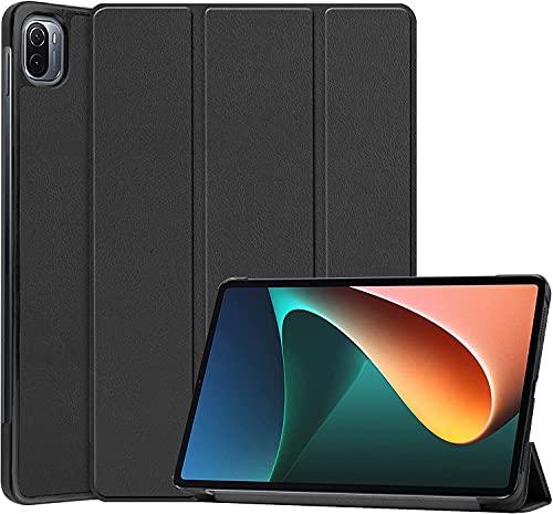 Fitudoos Hülle Kompatibel mit Xiaomi Mi Pad 5/Mi Pad 5 Pro 11 Zoll- Ultra Dünn mit Standfunktion Slim Smart Schutzhülle –Schwarz