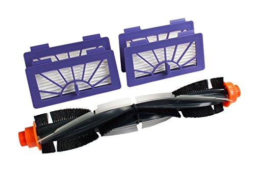 Hannets Hochwertiges Zubehörset I Neato XV Staubsaugroboter Ersatzset I Premium Neato Zubehör Set für Neato XV Signature Pro, Modell 945-0005, 945-0006, XV Essential Nr. NXV-1RB-4HF