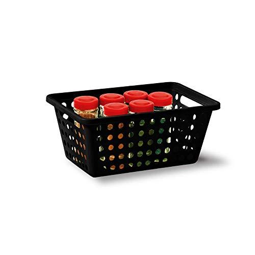 kit com 5 cestas medias e 2 cestas grandes - KN356/357
