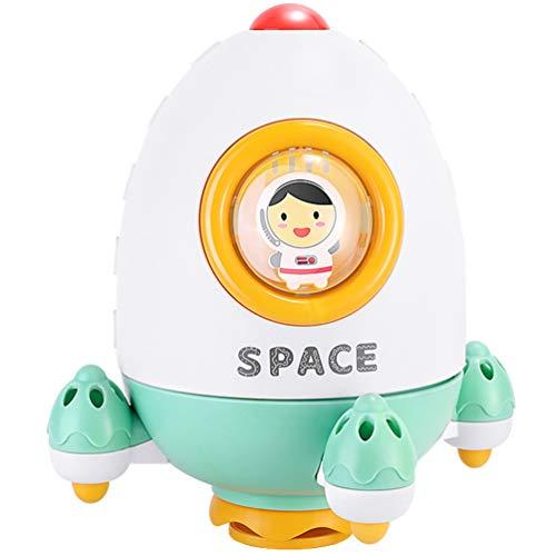TOYANDONA Babybadspeelgoed Sproeiwater Speelgoed Sproeiers Badspeelgoed Voor Kinderen Badkamer Sproeibad Speelgoed (Raket)